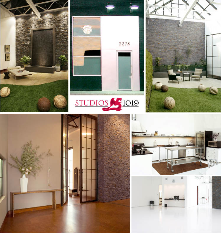 Studios 1019 located in Dallas, Texas, available for weddings, receptions, rehearsal dinners and events