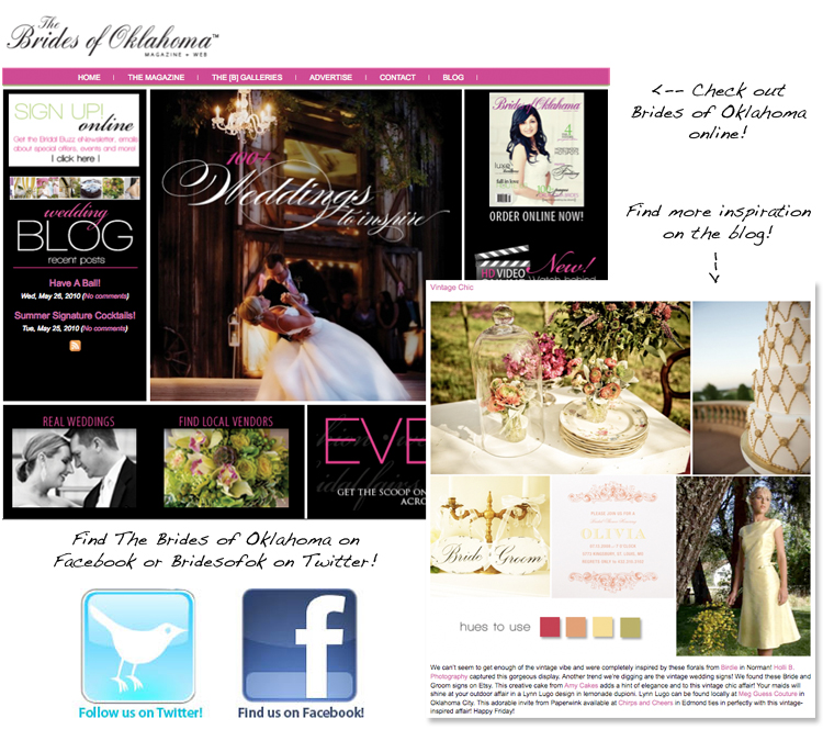 Check out the sister publication of Brides of North Texas — Brides of Oklahoma!