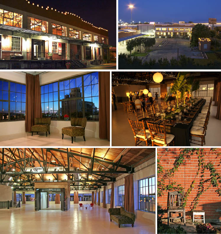 Hickory Street Annex located in Deep Ellum district in Dallas, Texas for weddings and receptions
