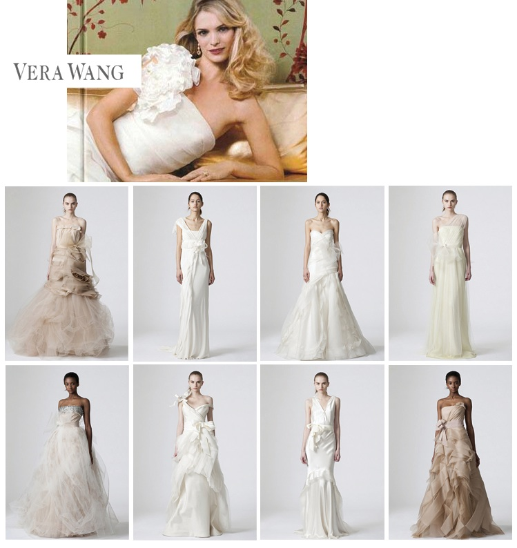 Vera Wang Spring 2010 Demi-Couture Bridal Gown Collection found at Neiman Marcus and Warren Barron in Dallas, Texas
