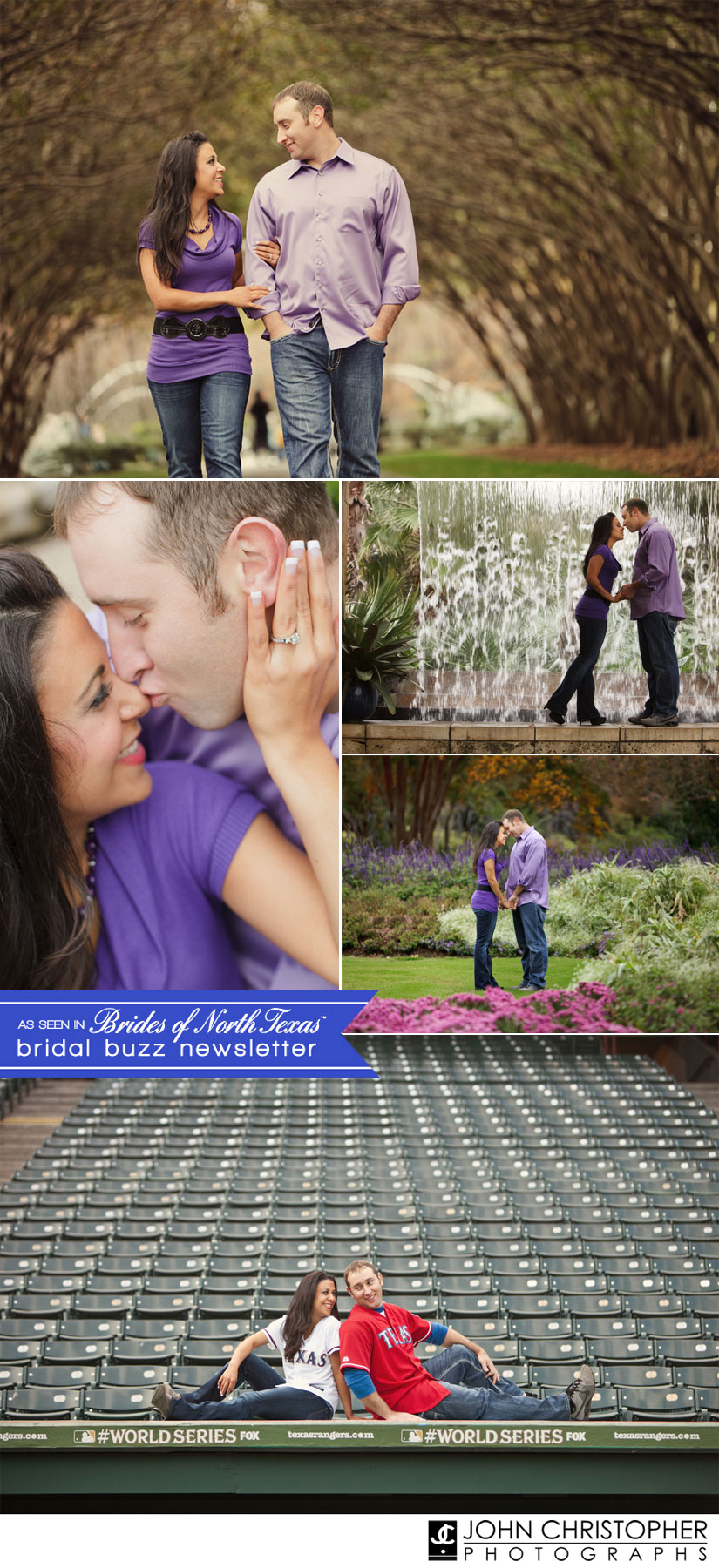 April Almost Married Couple - photographed by John Christopher Photographs