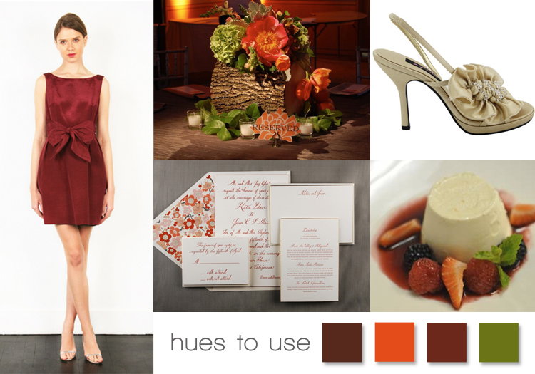 Cranberry Color Inspiration for your Wedding, North Texas Wedding Inspiration