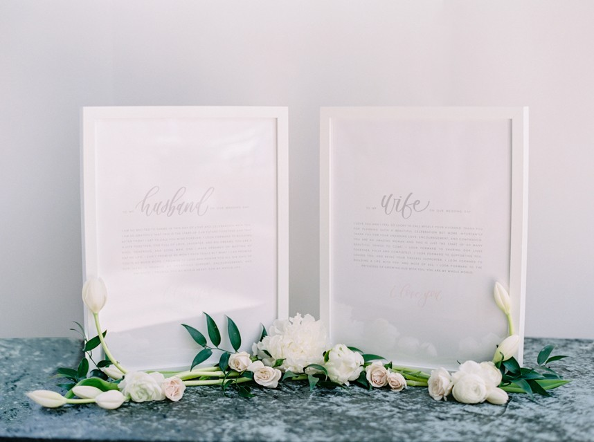 husband and wife vows