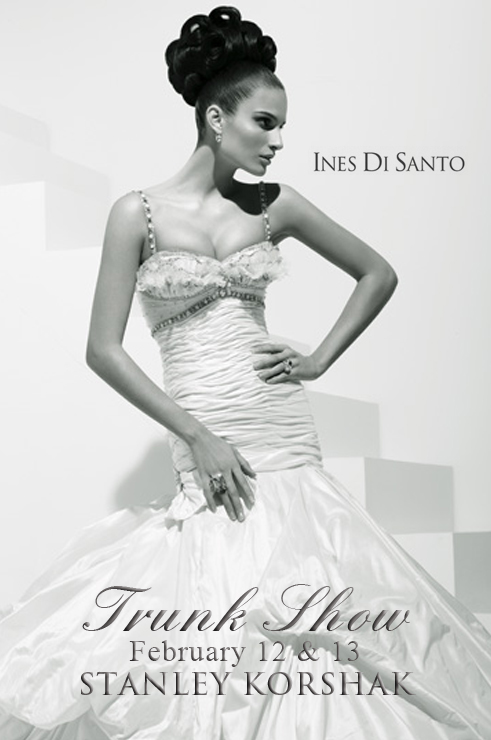 Ines Di Santo wedding gowns available at Stanley Korshak in Dallas, Texas