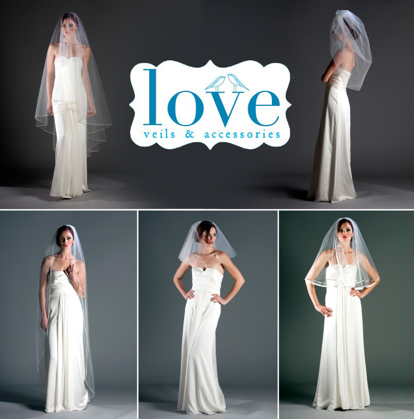 Love Veils at the Brides Room