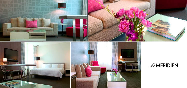 Le Meridien in Dallas, Texas, is a great place for wedding guest accommodations