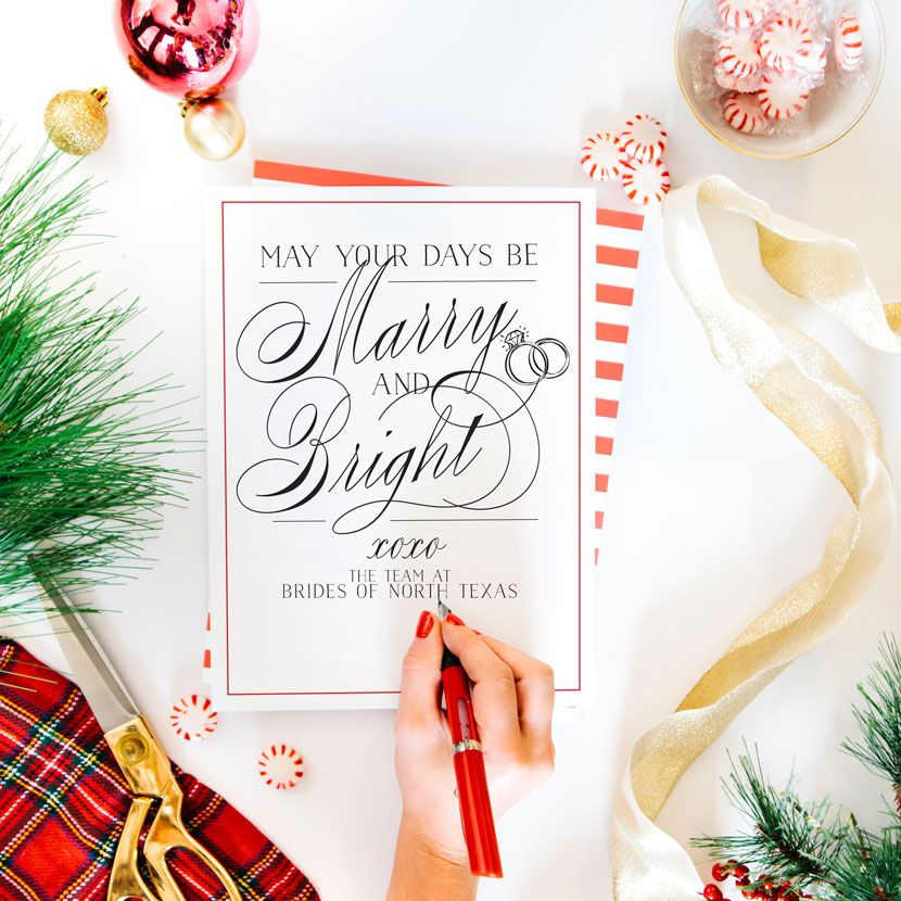 Brides of North Texas Wishes you a Happy Holiday Season!