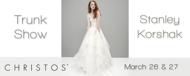 Texas bridal and bridesmaid attire available at Stanley Korshak in Dallas