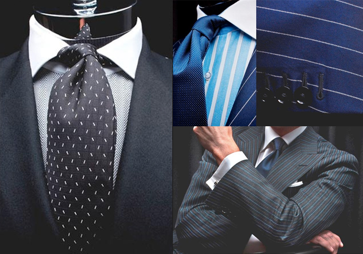 Groom tuxedos by Oxxford available at Stanley Korshak in Dallas