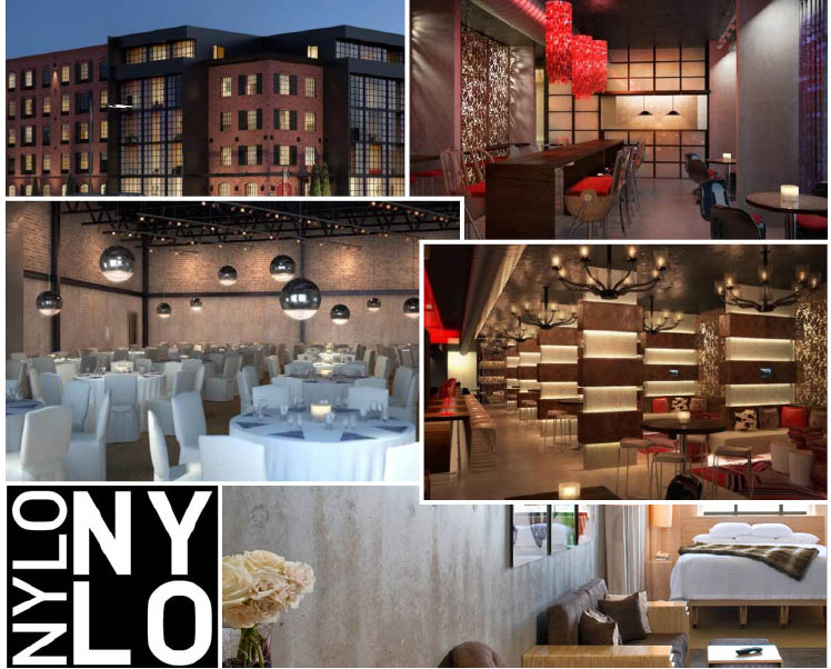 Nylo Dallas/Las Colinas located in Irving Texas, offers an ultramodern wedding venue for the Texas bride!