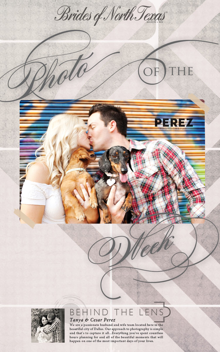 Brides of North Texas Photo of the Week Perez Photography