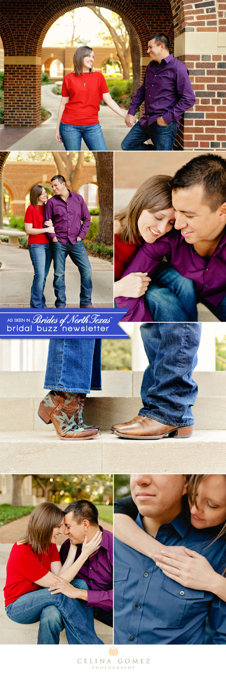 Brides of North Texas Almost Married Couple - Celina Gomez Photography