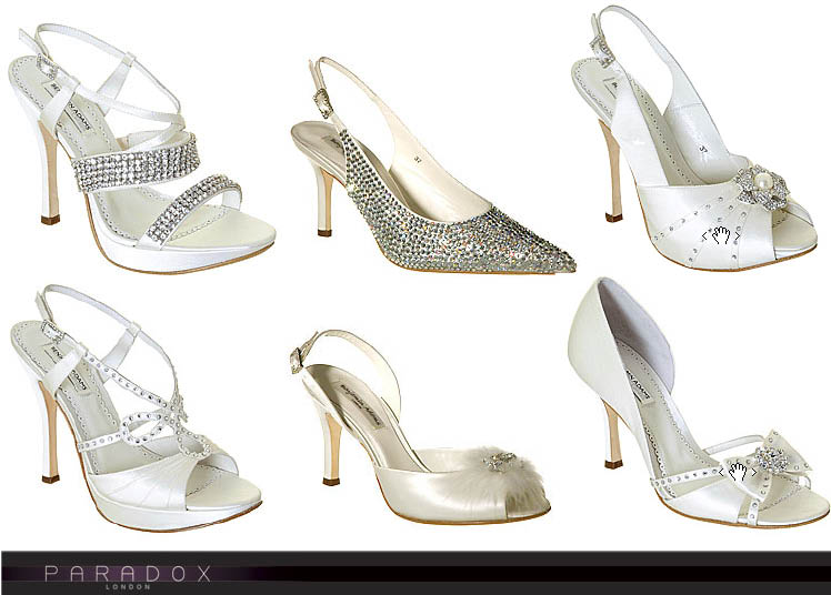 Paradox of London wedding shoes available at Bridal Boutique of Lewisville, Mockingbird Bridal and Brides and Beaux