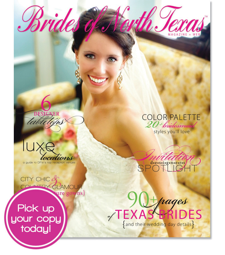 Brides of North Texas hits newsstands today