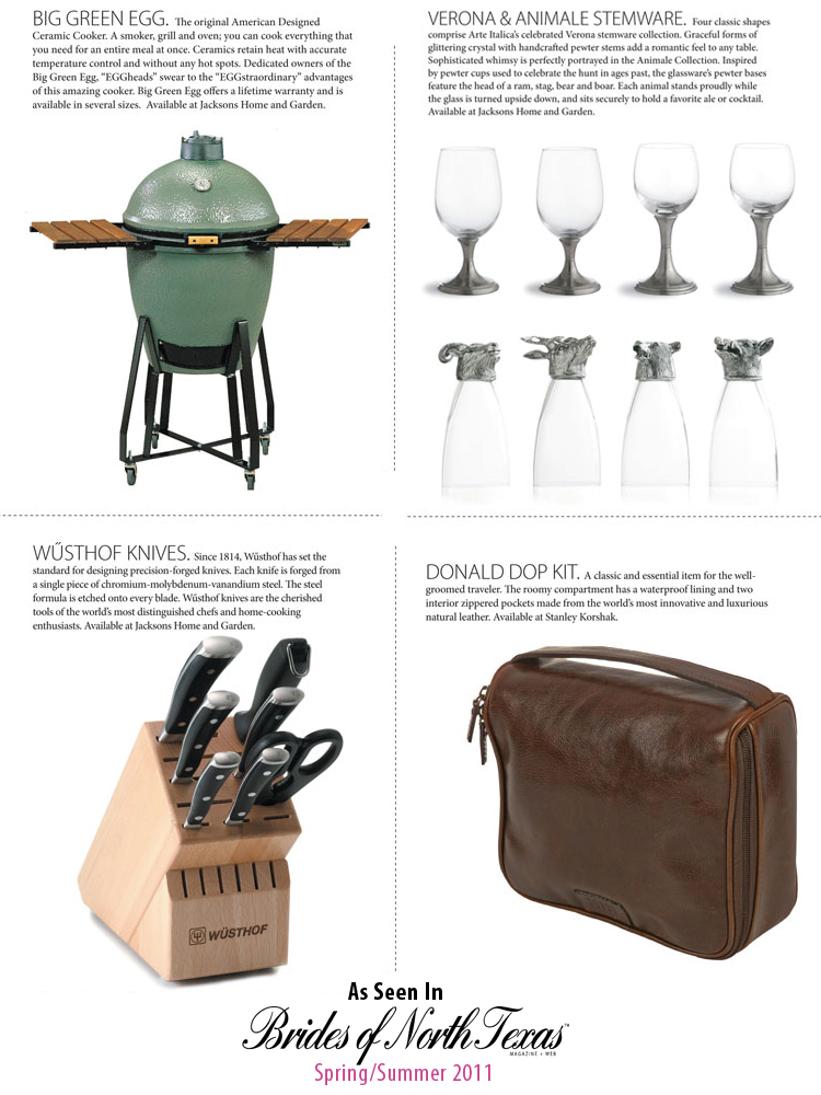 Groom and groomsmen gifts - Brides of North Texas