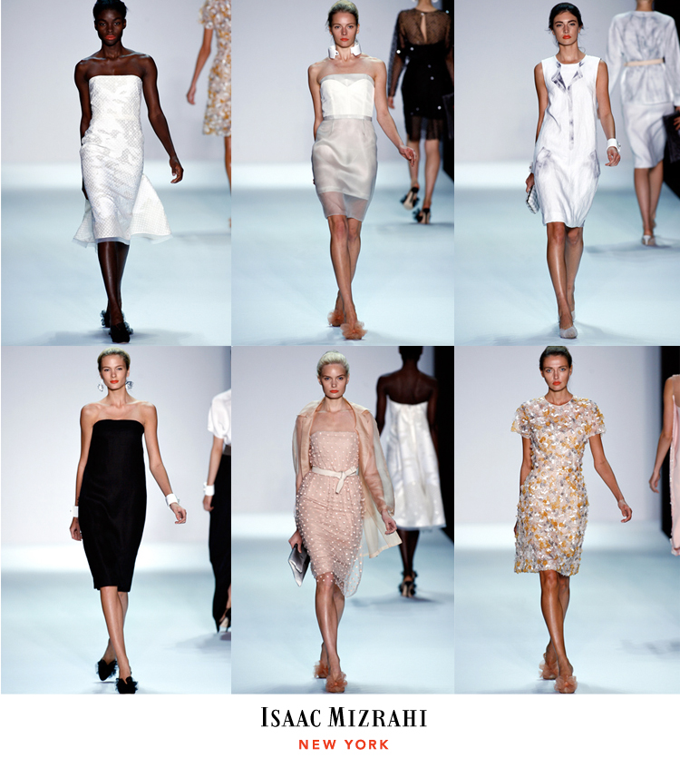 Isaac Mizrahi Spring Fashions, Brides of North Texas Rehearsal Dinner and Bridal Shower Clothing Options
