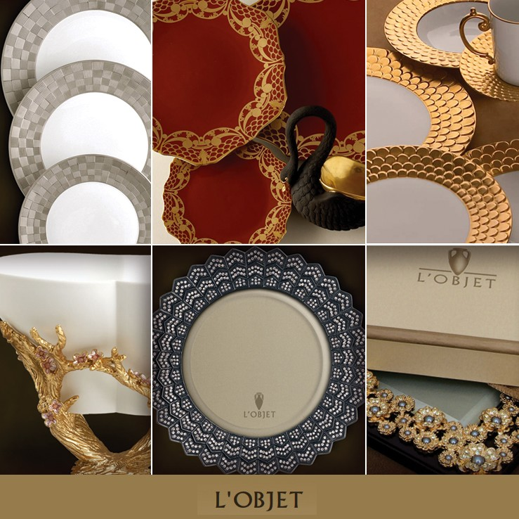 L'Objet China and Home Accessories in Dallas and Fort Worth