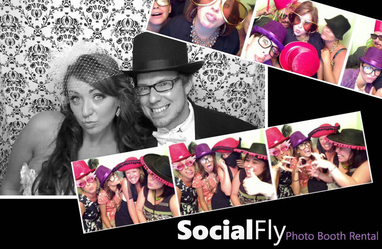 Social Fly Photo Booth Rental for Texas wedding receptions