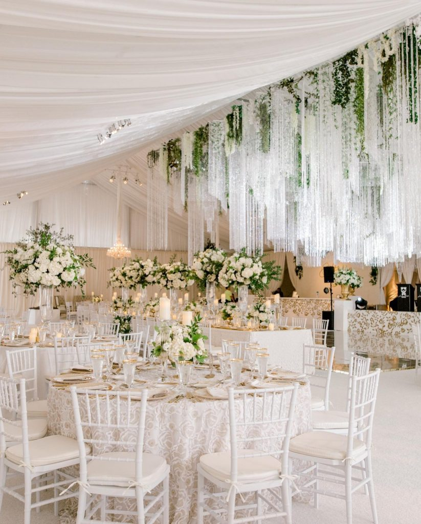 """""""The details from this wedding describe my personal style perfectly! The wedding is clean and classic, but has fun things"""