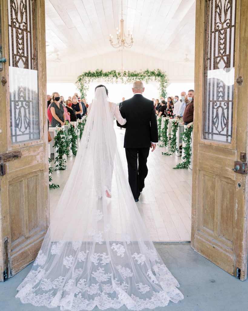 """""""The ceremony was surreal and was everything I had always pictured it to be. After we exchanged vows and rings,"""