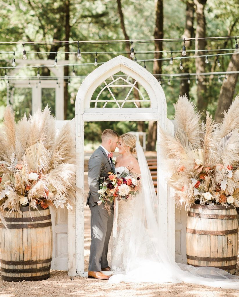 """""""When you're planning a wedding, you imagine all of the small details and what everything will look like, but you"""