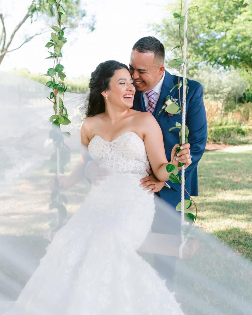 """""""Our photographer, stephaniemichellephotog, captured our beautiful wedding and made us feel comfortable throughout the whole process. She is absolutely amazing"""