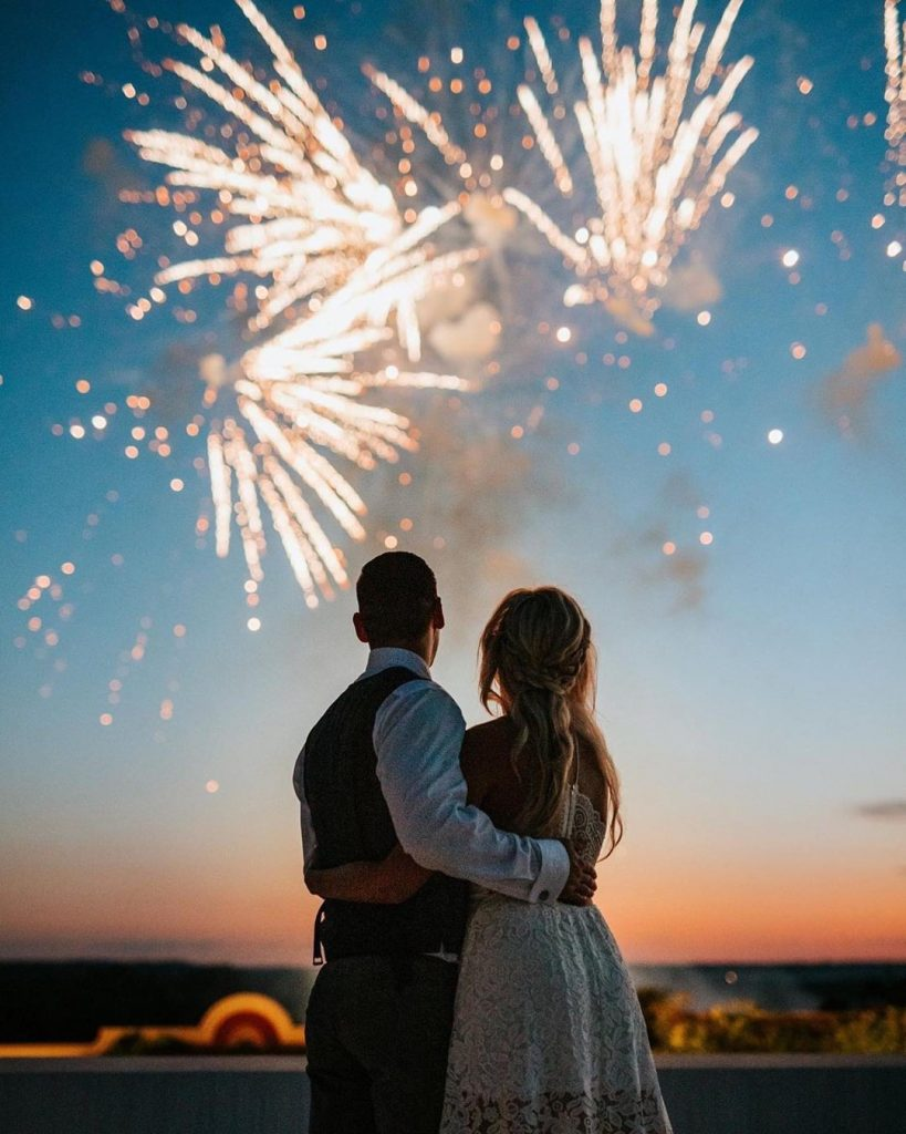 Miss the fireworks this year (thanks a lot 'Rona...)? How about a show at your wedding reception instead?! ? prestotechnics