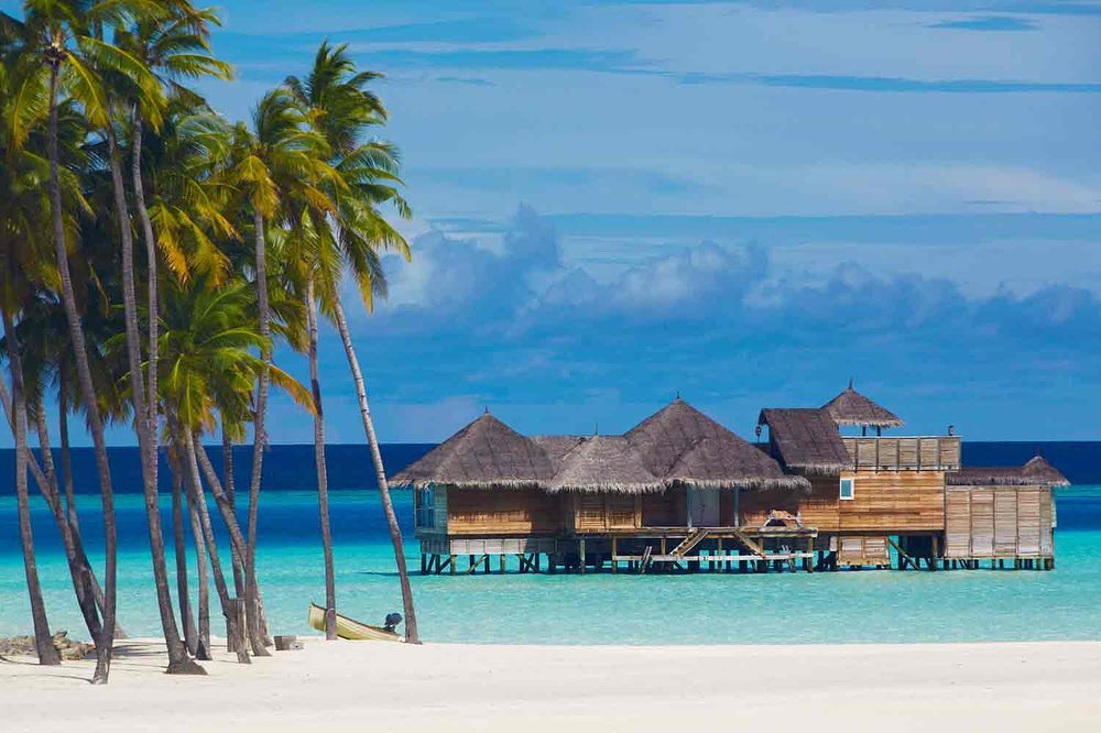When you think of a honeymoon, THE MALDIVES probably comes to mind! ?️ With the picturesque overwater bungalows and white