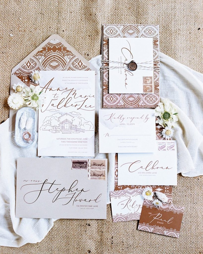 You're planning the wedding of your dreams — now it's time to talk about the wedding invitations. From timelines and
