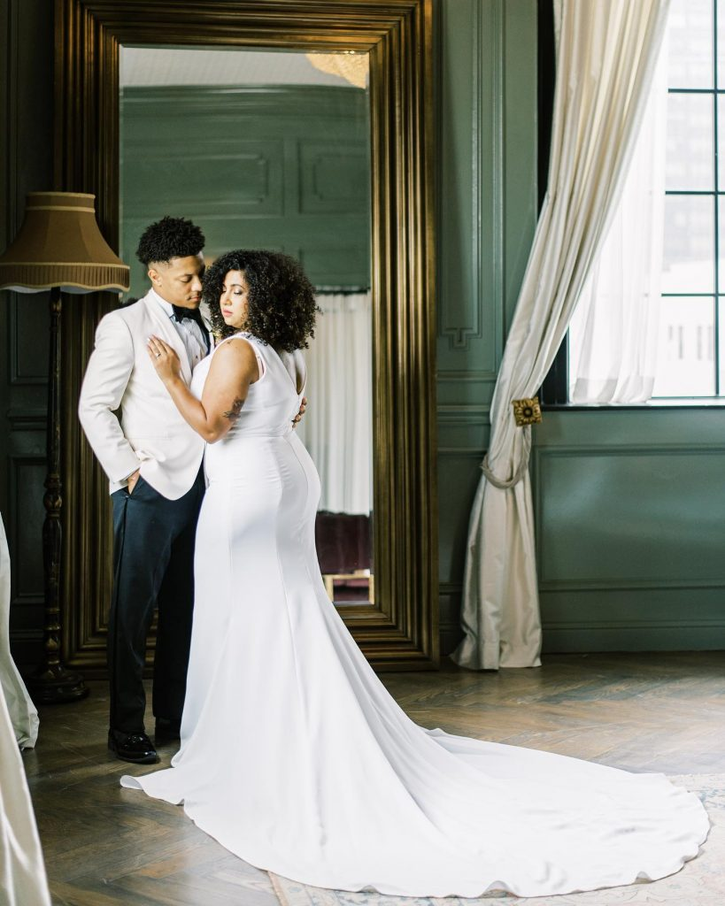 """""""Where do we even begin?! This elegant and romantic styled shoot showcases all the luxury and class of any couple's"""