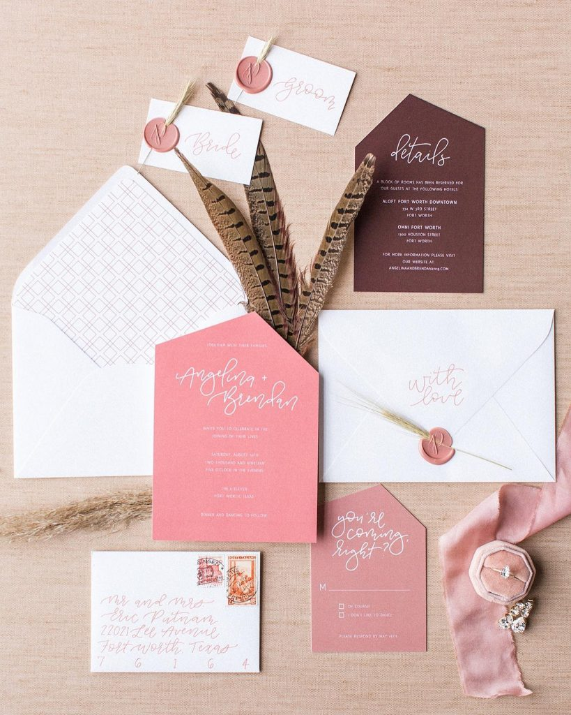 The prettiest paperie by bethanyslettershop! We are all about this berry palette –perfect for a feminine affaire or mixed into