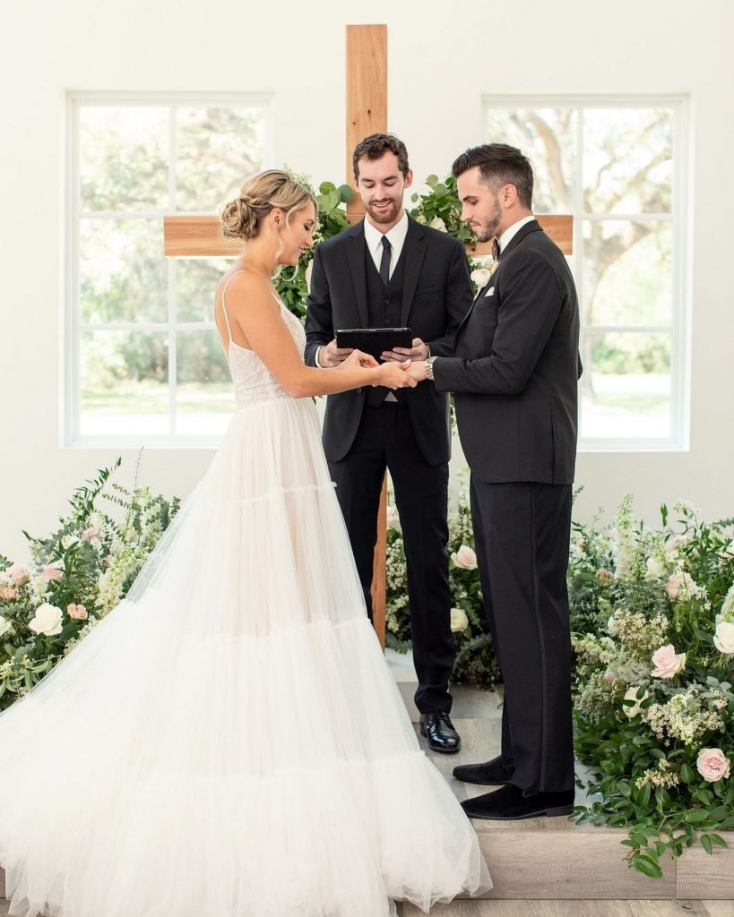 Who will be by your side on your wedding day?? If you don't already have an ordained uncle or a