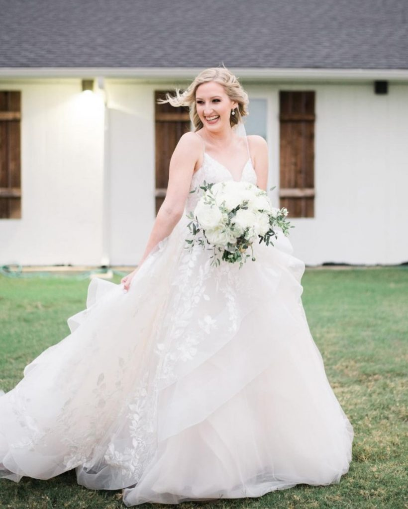 """""""My favorite and most helpful wedding vendor is Brittany Smith at Blissful Weddings & Events! Brittany was so sweet and"""