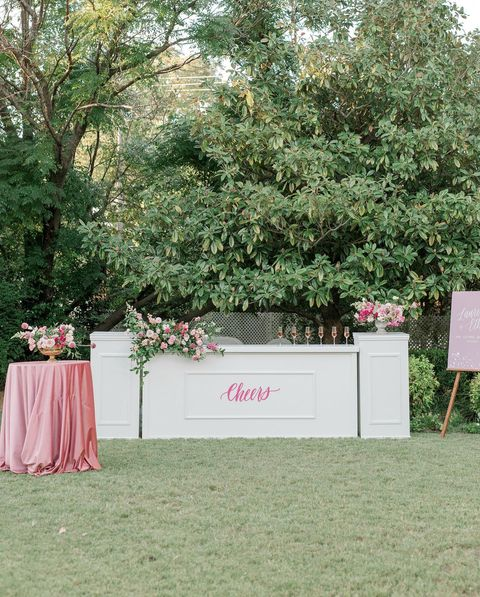 """""""I wanted to do something fun and colorful for this design but with the more relaxed vibe of a micro-wedding."""