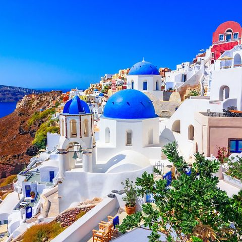 ? The iconic whitewashed houses and blue roofs are just the beginning of the beauty found in the Greek Islands.