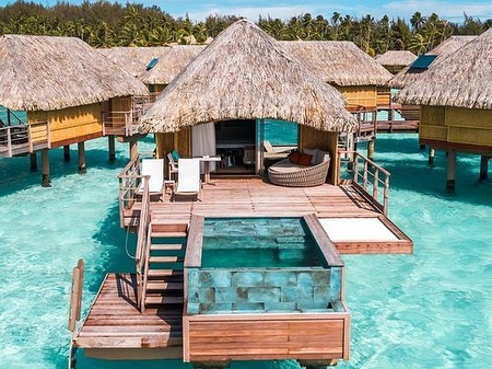 With luxury bungalows perched above turquoise water, unrivaled service, breathtaking views and loads of water and land activities, it is