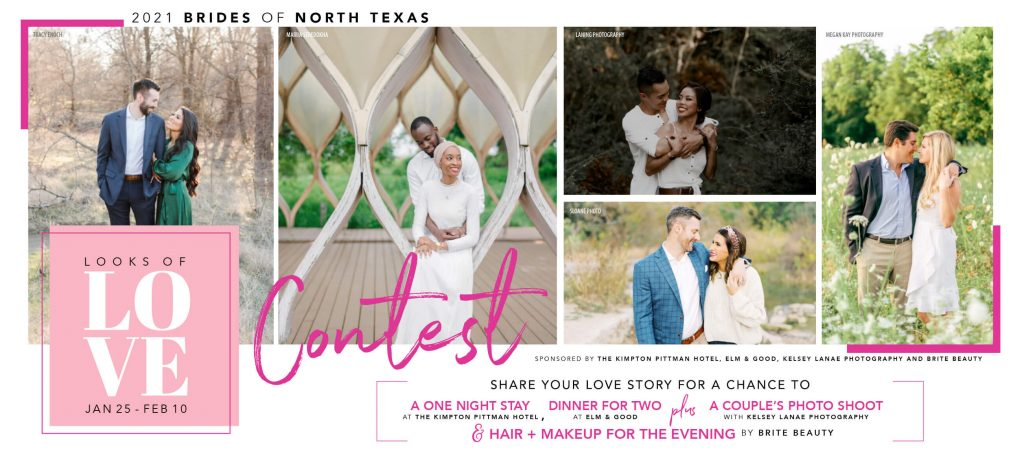 Brides of North Texas Looks of Love contest