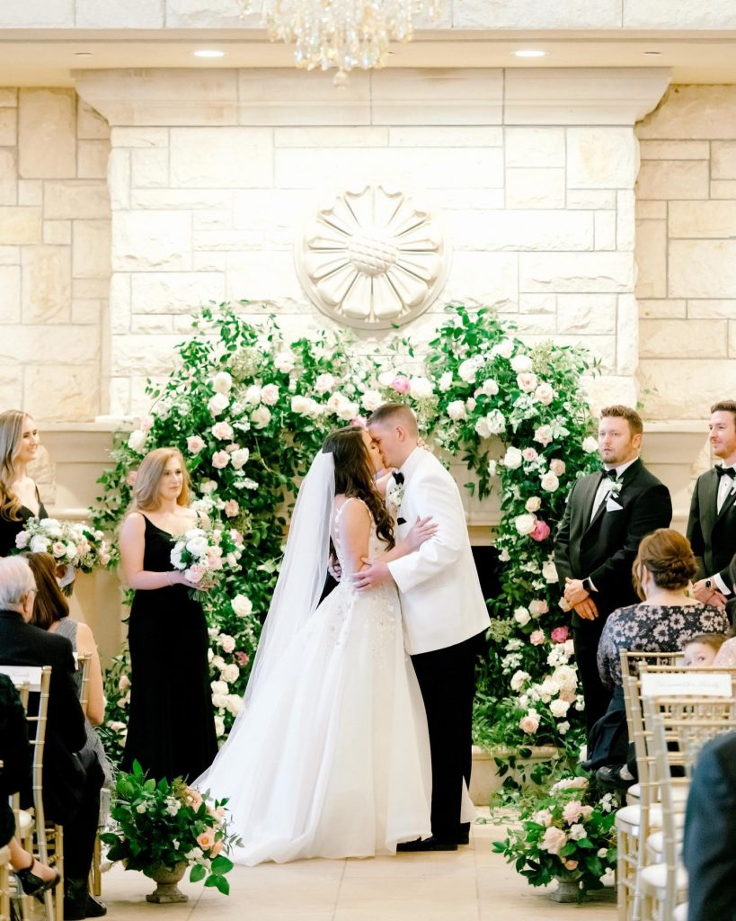 """""""My favorite memory of my wedding day was standing hand-in-hand with Andrew as we said, 'I do.' I know it"""
