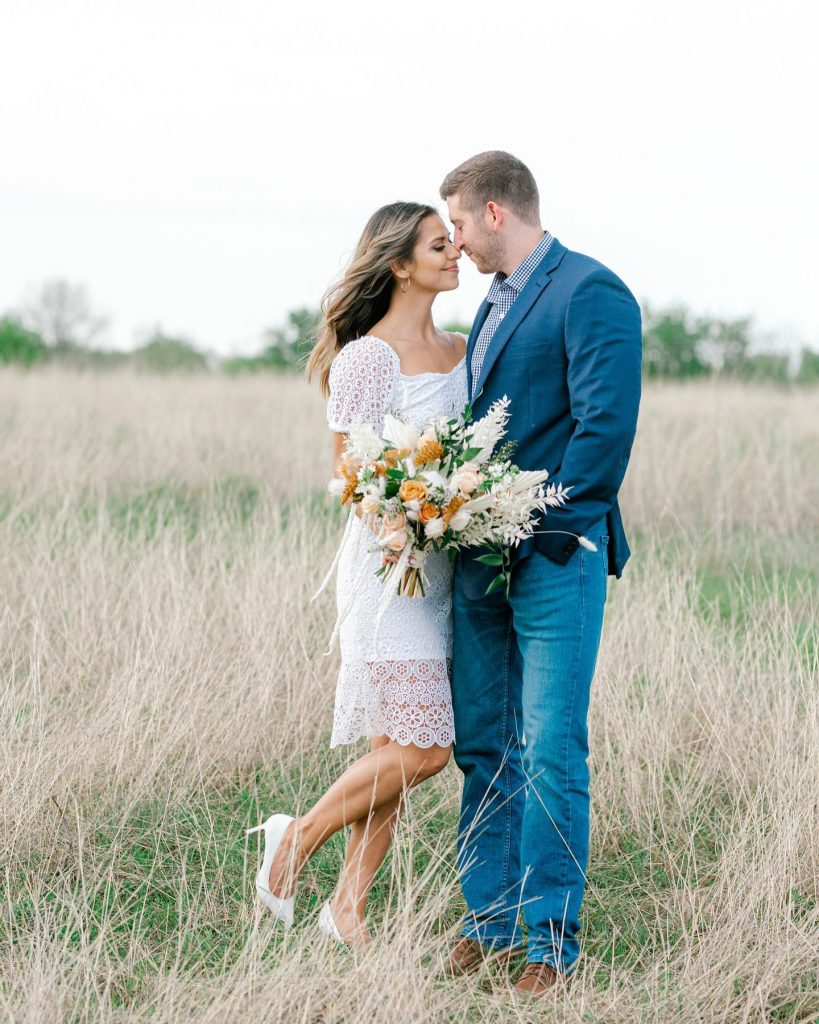"""From the soon-to-be bride: """"We enjoy traveling and taking weekend getaways and this time it was to Austin, TX. Brendan"""