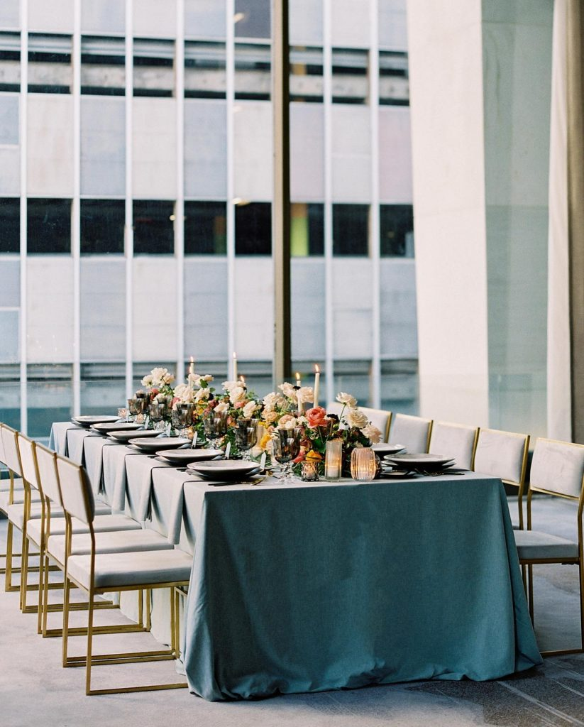 Refined elegance makes a statement in this wedding editorial designed by pro planner alexakayevents in luxe, modern scenes around the