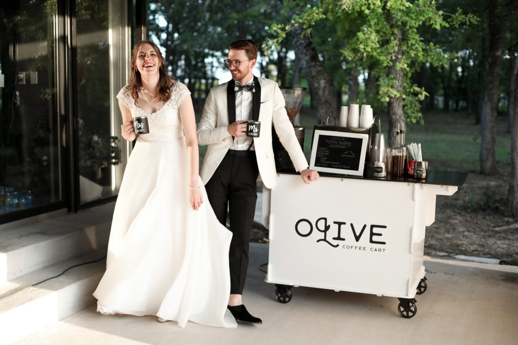 Olive Coffee Cart