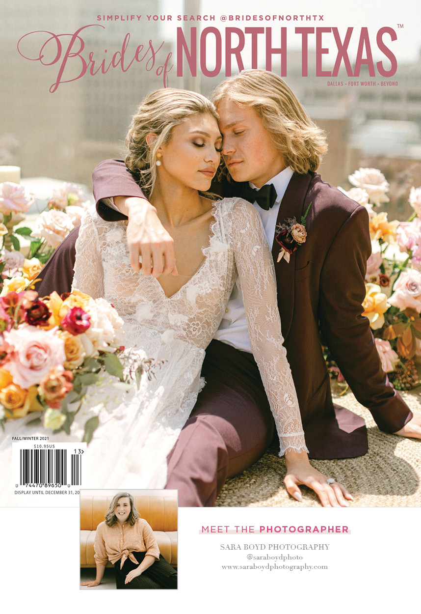 Brides of North Texas FW21 Issue and a New Website!