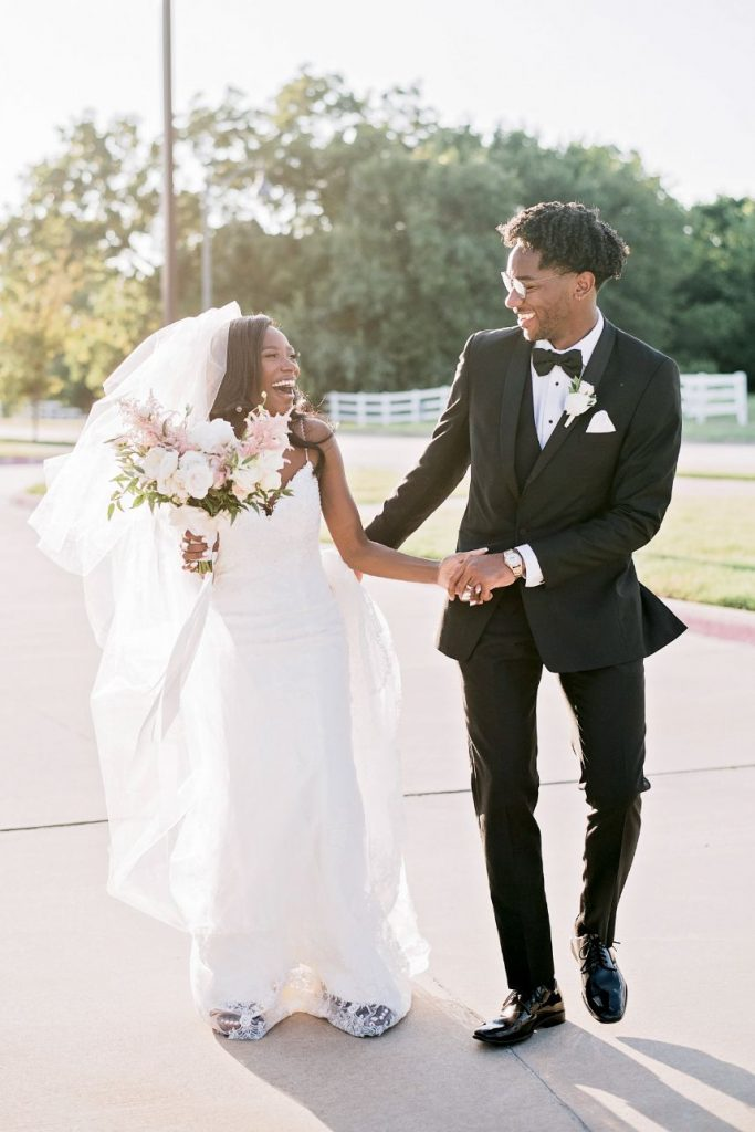 gold accents wedding